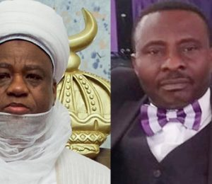 Sultan of Sokoto, Sa'ad Abubakar III and President, Christian Association of Nigeria, Rev. Samson Ayokunle